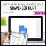 Getting to Know Google Docs {Scavenger Hunt, PDF}