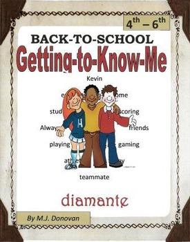 Getting-to-Know-Me Diamante