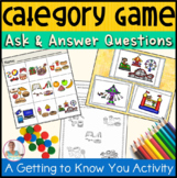 Ask A Question! Category Brain Break Game- Language Arts,