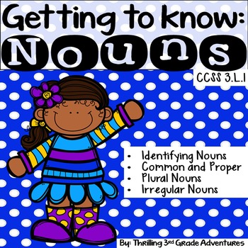 Nouns: Common and Proper, Plural and Irregular