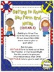 Getting to Know You Form & Card (EDITABLE) ~ Nautical