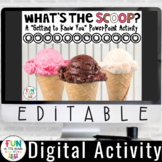 "Getting to Know You PowerPoint Activity: ""What's the Scoop"