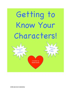 Getting to Know Your Characters!