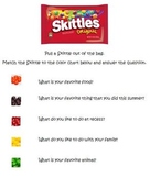 Getting to Know you with Skittles