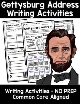 Gettysburg Address Creative Writing Word Splash