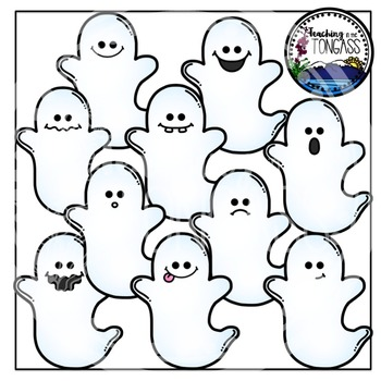 Ghost Clipart Bundle