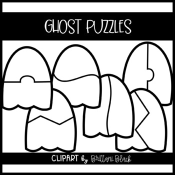 Ghost Puzzles~ Clipart