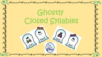 Ghostly Closed Syllables