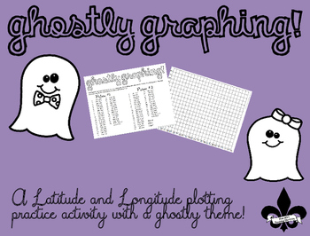 Ghostly Graphing FREEBIE