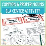 Common Nouns and Proper Nouns {Ghostly Nouns}
