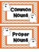 Common Nouns and Proper Nouns {Ghostly Nouns} - Halloween
