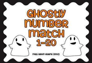 Ghostly Number Match 1-20