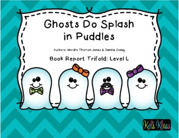 Ghosts Do Splash in Puddles Trifold