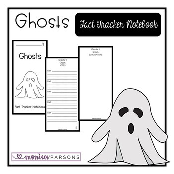 Ghosts Fact Tracker Notebook