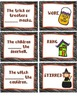 Ghosts, Ghouls, and Grammar!  OH MY!  3 Games to Teach Par