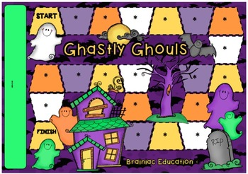 Ghouls Blank Board Game (EDITABLE)
