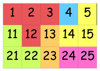 Giant Number Puzzle 1-200