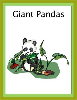 Giant Pandas Thematic Unit