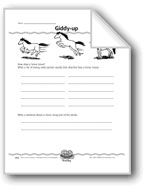 Giddy-up (Strong Verbs)