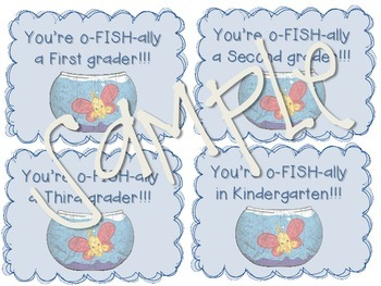 Gift Tags for Students