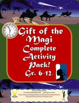 Gift of the Magi - Complete Activity Pack Grades 6-12