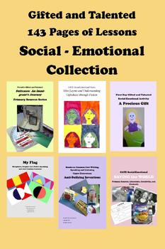 Gifted and Talented GATE Social Emotional Collection 143 Pages!