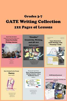Gifted and Talented GATE WRITING COLLECTION 122 Pages