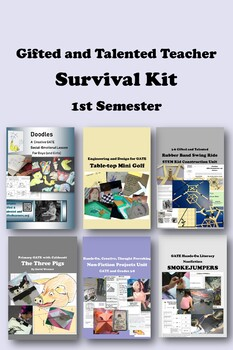 Gifted and Talented SURVIVAL KIT 1st Semester -- 33% Disco