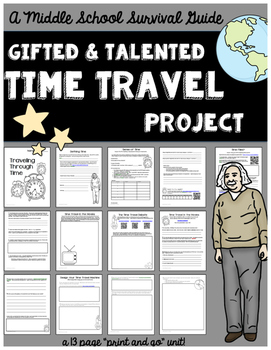 Gifted and Talented Unit - Time Travel Research and Design