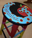 Gifts - Custom Painted Stools