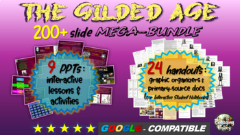 Gilded Age (American Industrial Revolution) MASSIVE BUNDLE