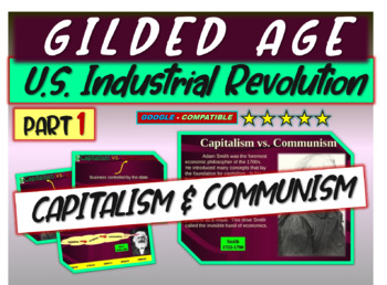 Gilded Age (U.S. Industrial Revolution) PART 1 of epic 176