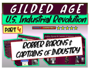 Gilded Age (U.S. Industrial Revolution) PART 4 of epic 176