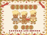 I-Spy Ginger Letters and Sounds-Differentiated and Aligned