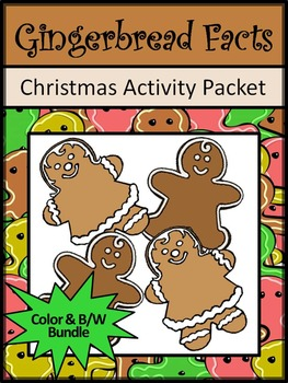 Gingerbread Activities: Gingerbread Facts Christmas Readin