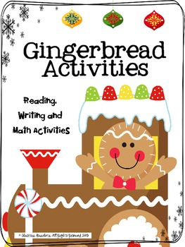 Gingerbread Activities: Reading, Writing, & Math
