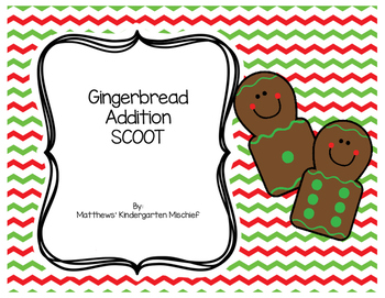 Gingerbread Addition SCOOT