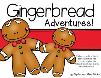 Gingerbread Adventures Freebie