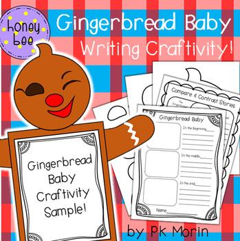 Gingerbread Baby Writing Craftivity