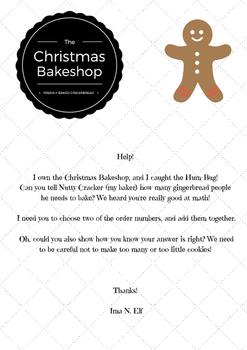 Gingerbread Bakery Word Problem
