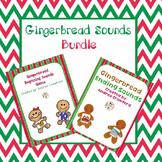 Gingerbread Beginning/Ending Sounds Games Bundle