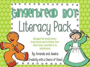 Gingerbread Boy Literacy Pack
