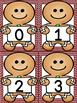 Gingerbread Boy Number Flashcards 0-100