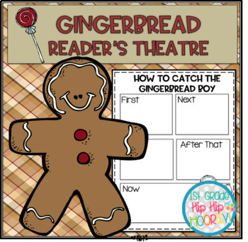 Reader's Theater for the Gingerbread Boy...Activities Included!