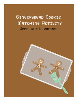 Gingerbread ABC Match