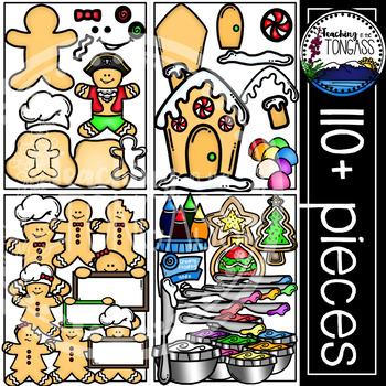 Gingerbread Clipart MEGA Bundle