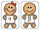 Gingerbread Counting with numbers 1-10 and ten frames