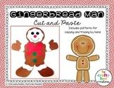 Gingerbread Man Cut and Paste Freebie