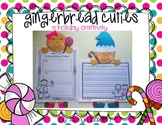 Gingerbread Cuties: A gingerbread holiday craftivity