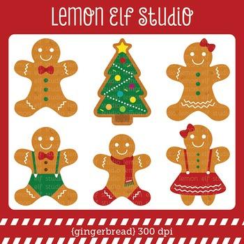 Gingerbread-Digital Clipart (LES.CL51)